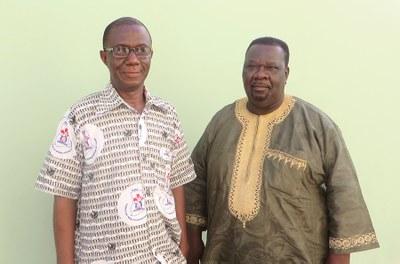 Dr Prosper KPEGBA et Dr Richard ATIEMO