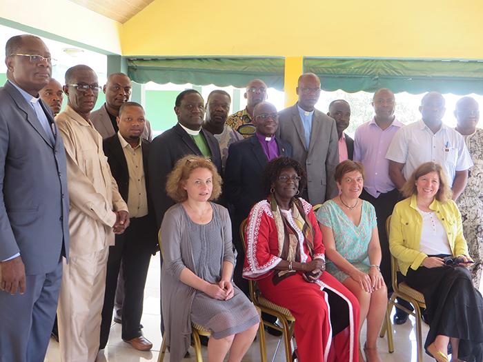 Photo de groupe lors du séminaire Solidarité-Santé OPM-Cevaa (Abidjan mars 2016), DR