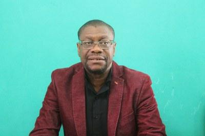 Samuel Désiré Johnson, secrétaire exécutif du pôle Animations de la Cevaa, membre de l'équipe des facilitateurs
