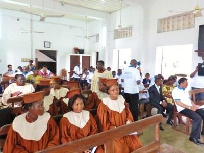 07. La chorale de l'Eglise protestante méthodiste du Bénin.
