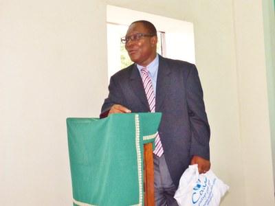 11. Charles Klaba, président de l'Eglise méthodiste  du Togo (EMT), PCA de l'UPAO, est venu encourager les Responsables Jeunesse.