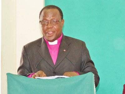 12. Mot d'accueil du président de l'EPMB, Nicodème Alagbada.