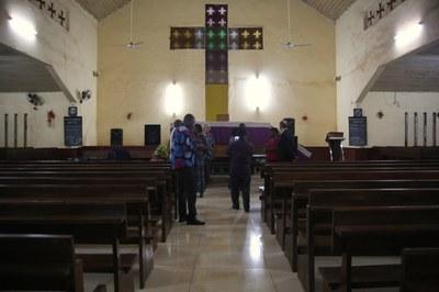 01) Première visite à l'EPCR (Eglise protestante Christ roi de centrafrique), 2 avril
