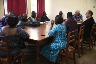 05) Rencontre à la Faculté de théologie évangélique de Bangui, 2 avril