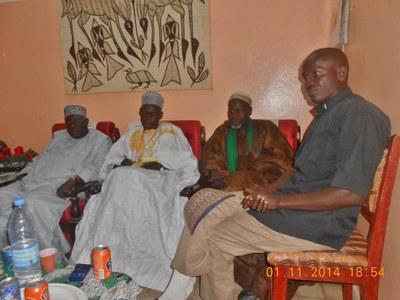 07. L'objet principal de la rencontre était un problème de santé publique, la sensibilisation sur la mortalité maternelle et infantile.