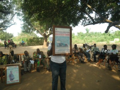 11) Le PMDCT fait de la lutte contre le paludisme son cheval de bataille...