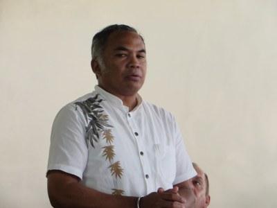 Le pasteur Lala RASENDRAHASINA, Président de l'Église de Jésus-Christ à Madagascar