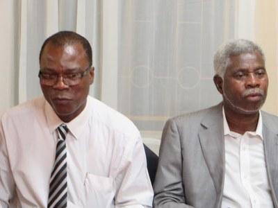 Le Secrétaire Général de la Cevaa et le Secrétaire Général de l'Église de Jésus-Christ à Madagascar