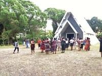 05 Arrivée à la paroisse de Saint Colomba pour le culte d'ouverture du séminaire