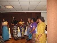23 Cadeaux de la délégation du Mozambique aux facilitateurs