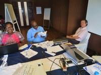 30 Les participantes ont reçu la visite de Monsieur Jean Daniel Peterschmidt....