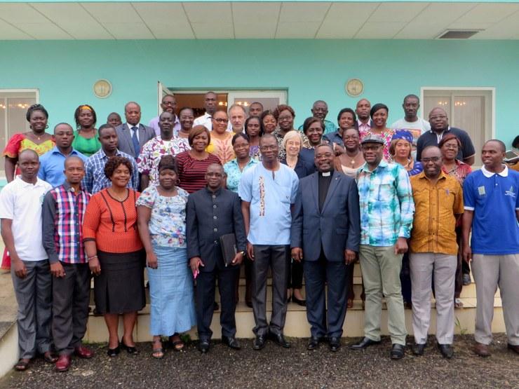 Participants au séminaire NAC, novembre 2015, Gabon, DR