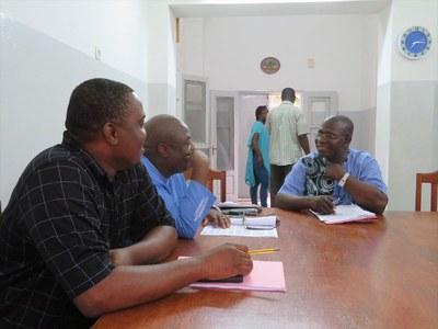 Réunion avec les responsables de Départements, EPS