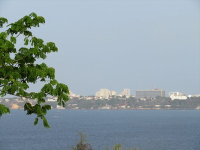 Dakar, vue de l'Île de Gorée