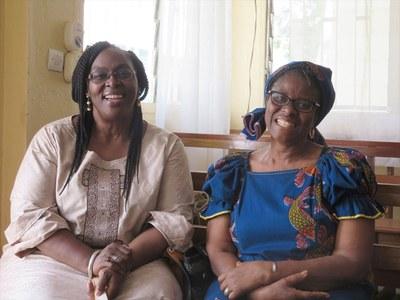 Dr Christiane Agboton-Johnson, ancienne Présidente de la Cevaa et paroissienne de l'EPS