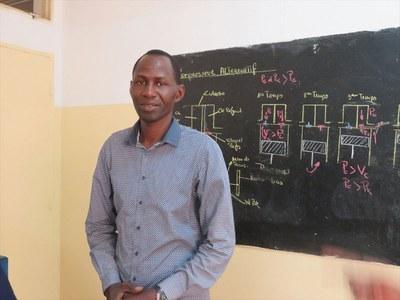 Le Responsable de la section froid/climatisation, école du froid, (projet soutenu par la Cevaa) Centre Liberté, Dakar, EPS