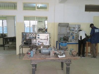 Ecole du Froid, projet soutenu par la Cevaa