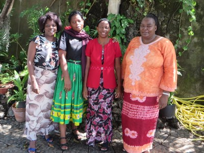 Les membres de l'United Church of Zambia (UCZ)