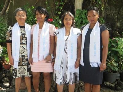 Les membres de la Fiangonan'i Jesoa Kristy Eto Madagasikara (FJKM)