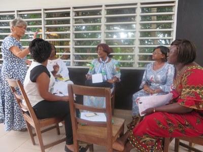 AEBA de Porto-Novo en juin 2014 : atelier