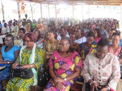 AEBA de Porto-Novo en juin 2014 : culte