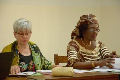 Irene Schaerer et Henriette Mbatchou, présidente