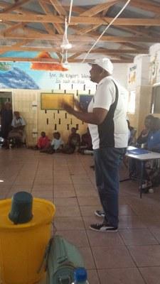 Rencontre entre les jeunes de la LEC et de l'UCZ en Zambie