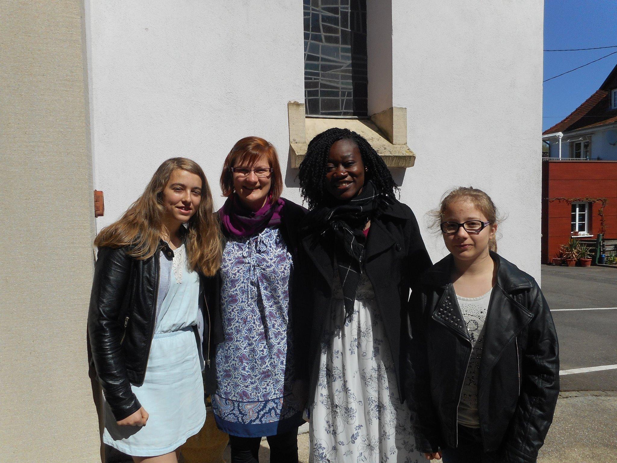 Alliance-Laure et deux participantes à la PdP 2016, DR