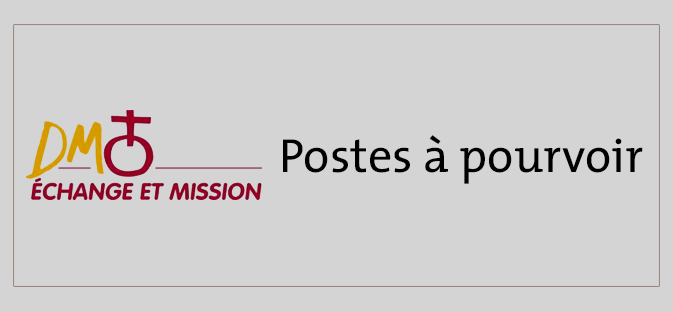 Postes à pourvoir DM