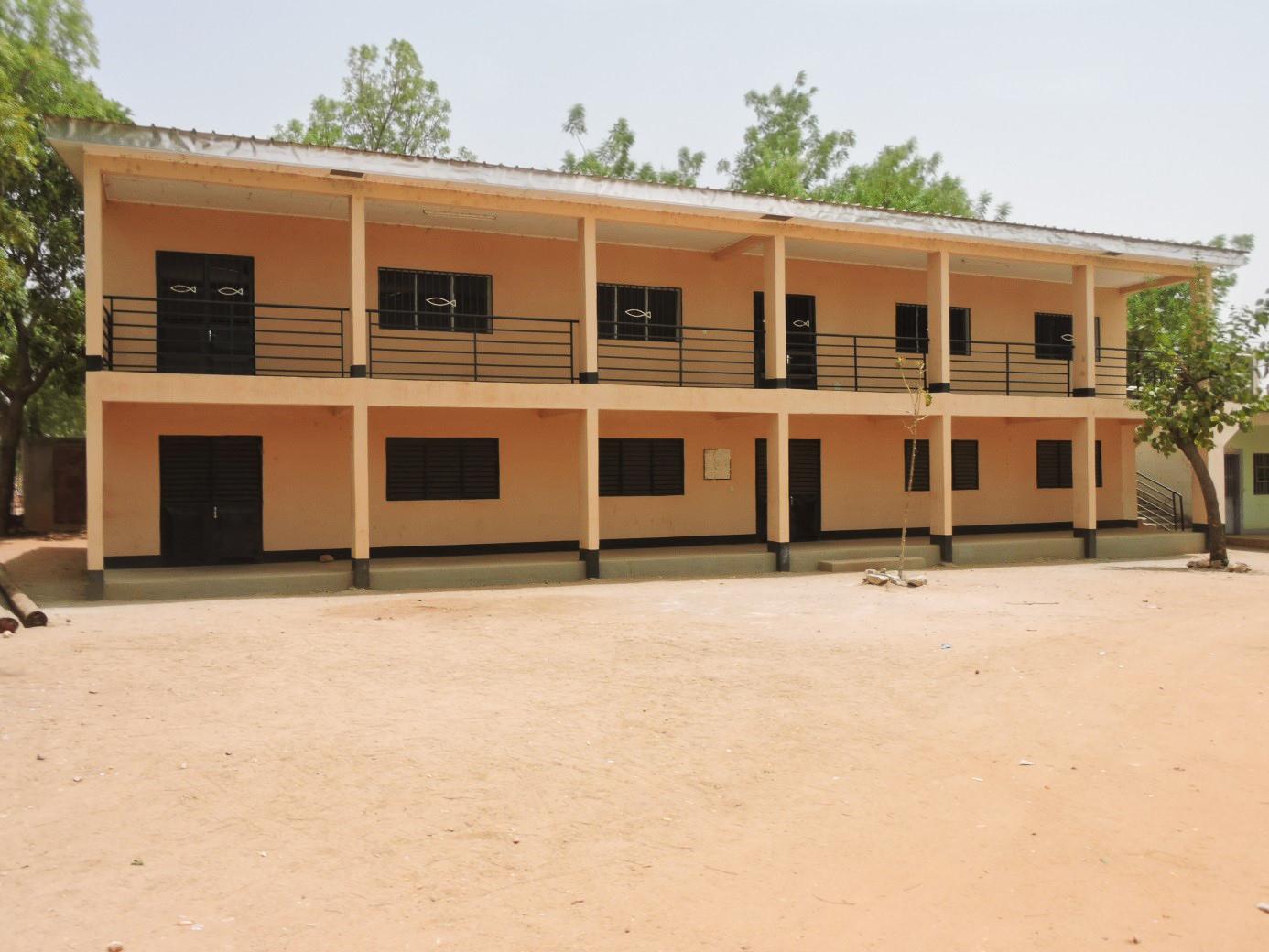 Centre technique de Garoua, bâtiment hôtellerie-restauration © UEBC