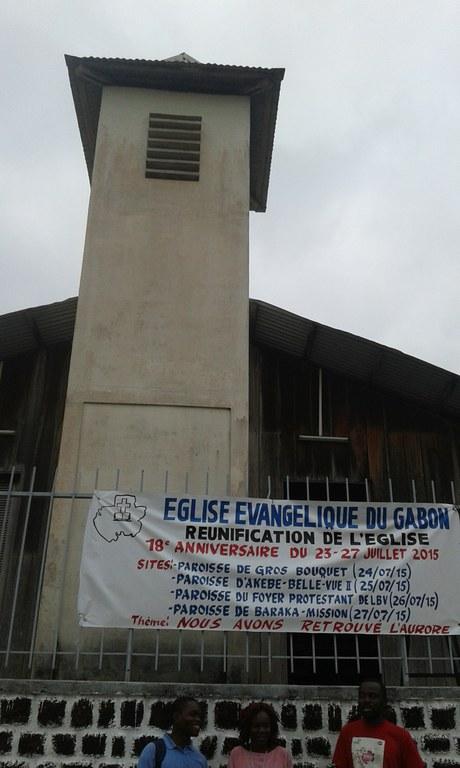 Message d'accueil sur la paroisse de Baraka pour le culte de la réunification du 27 juillet 2015