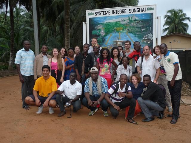 Participants à un séminaire d'animation théologique organisé au Bénin par  la Cevaa en 2015, DR