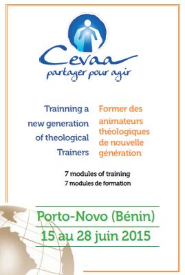 Flyer du séminaire de formation des animateurs théologiques de nouvelle génération