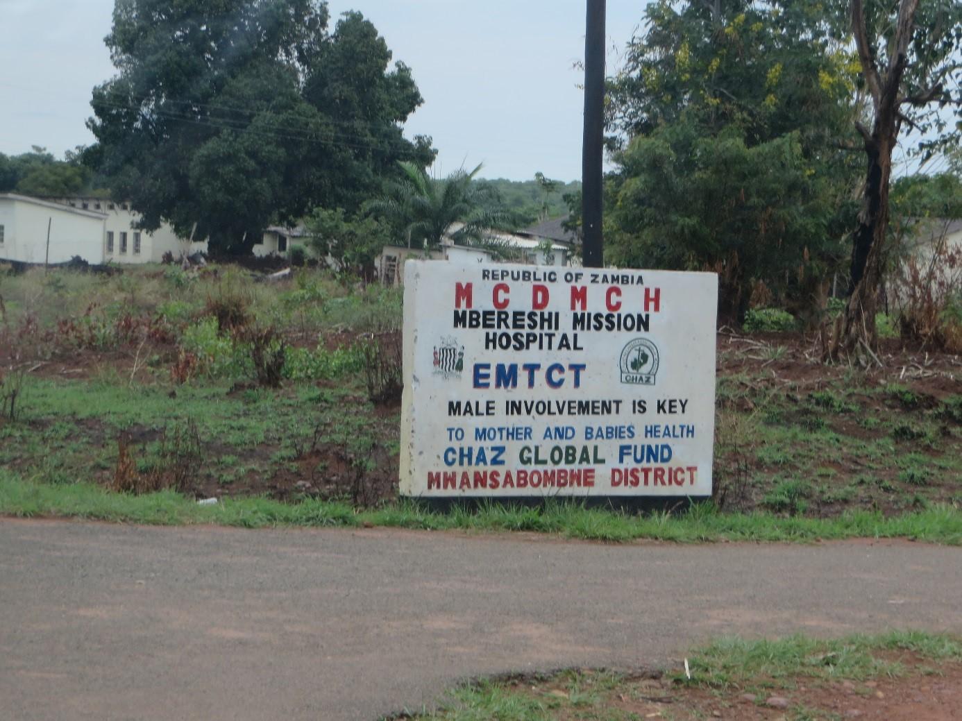 L'hôpital de Mbereshi, DR