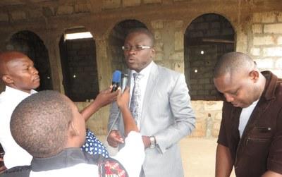 interview du Chargé de mission jeunesse, Roger Lasmothey
