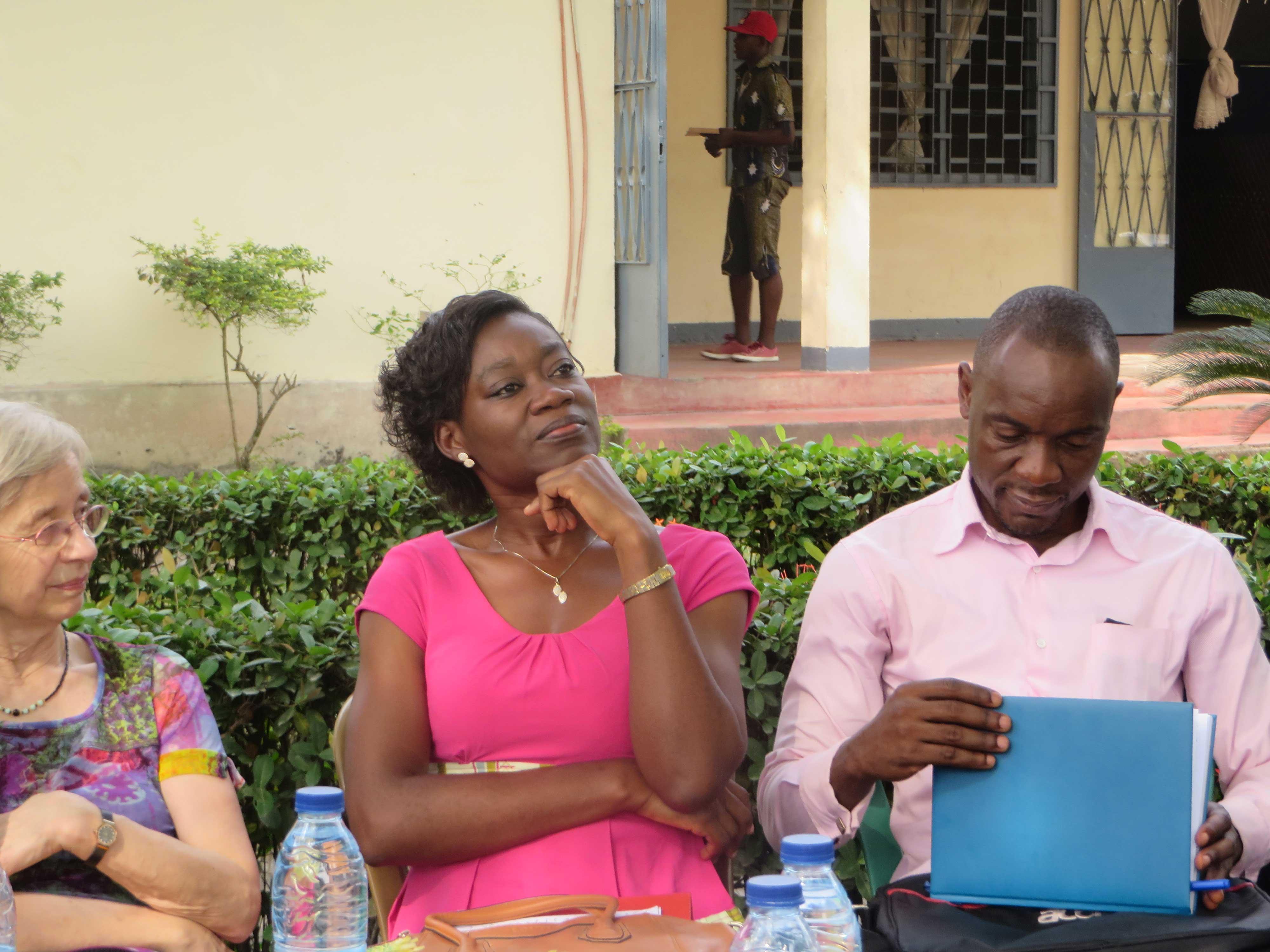 Alliance-Laure Otam à Douala, janvier 2016