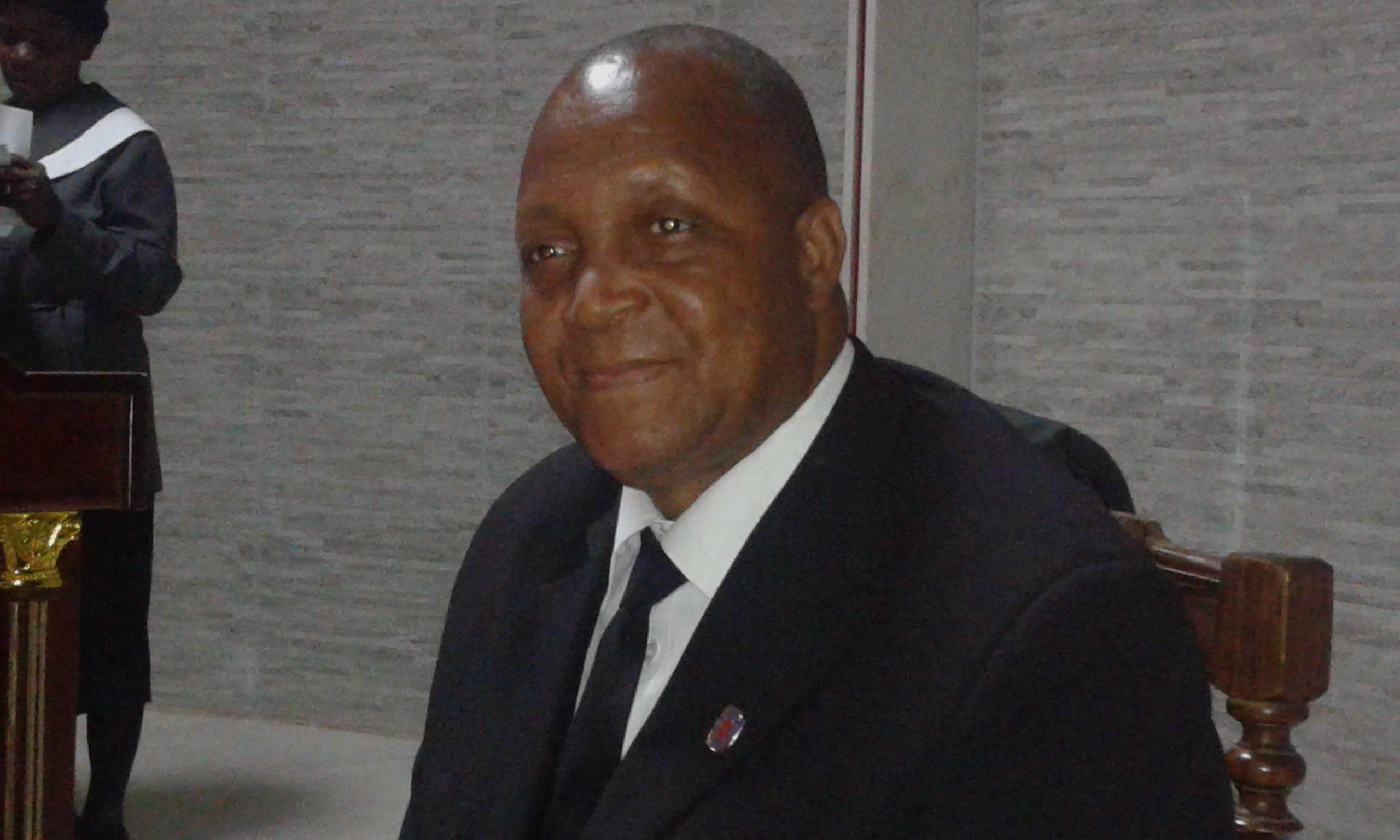 Président du synode Ernesto Langa
