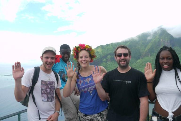 Photo camp d'été jeunes EPUdF et EPMaohi