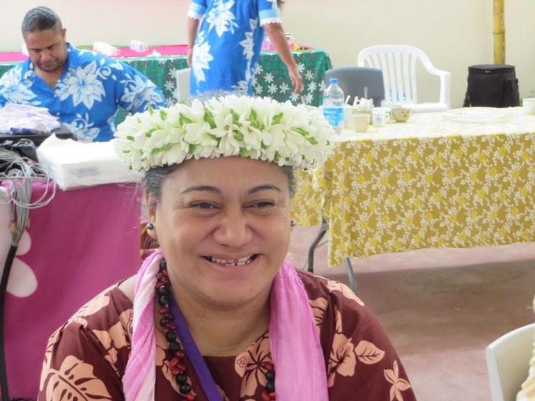 Pasteure Heiata Pifao, trésorière de l'EPMaohi
