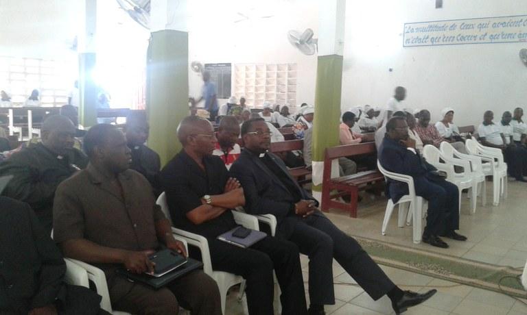 Président de l'EEG, vice-Président de la Cevaa (également président de l'EEC), président Eglise Protestante Méthodiste du Bénin