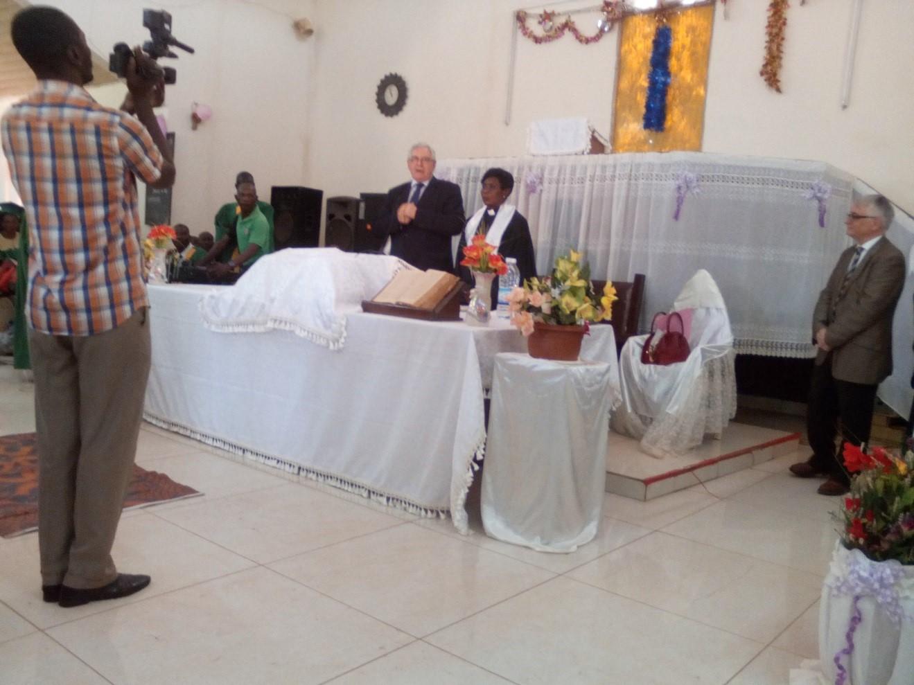 Culte de Pâques en RCA, DR