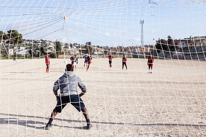 Photos de Paolo Ciaberta pour Mediterranean Hope, 2