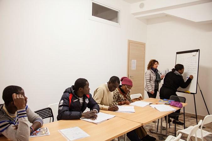 Photos de Paolo Ciaberta pour Mediterranean Hope, 3