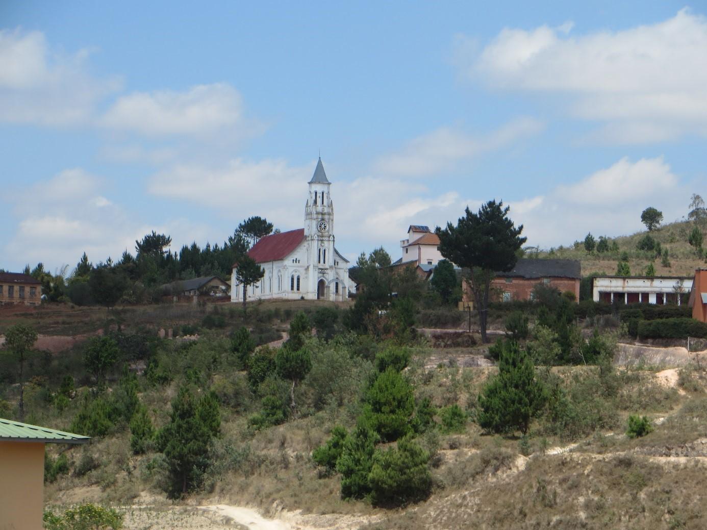 L'un des 11 temples FJKM de la province d'Ambatolampy, DR
