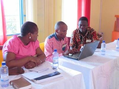 participants du Lesotho et du Ghana
