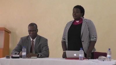 P. Kiki et P. Julie Kandema, vice-présidente de l'EPR