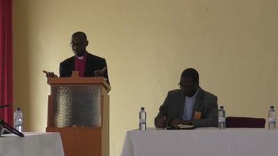 P. Pascal Bataringaya, Président de l'EPR et le P.Célestin Kiki